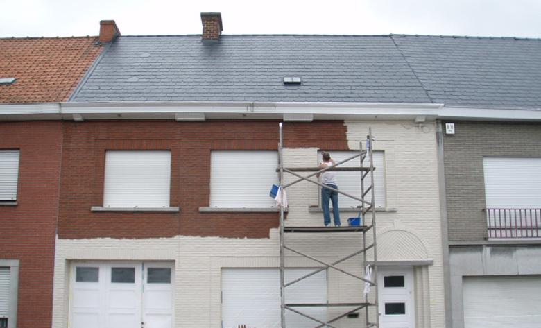 peindre une facade